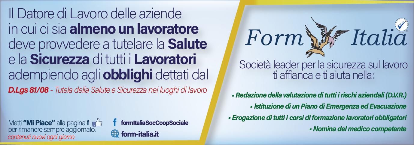 banner form italia